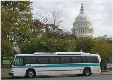 One of Georgetown University's Fuel Cell Buses (Generation II)